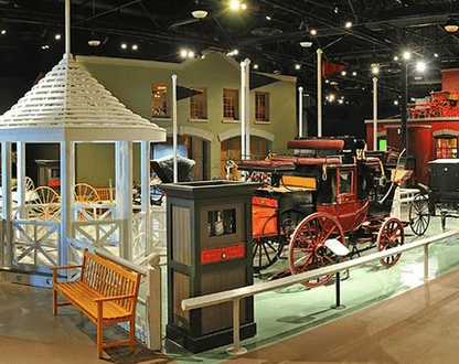 Remmington Carrage Museum - The Remington Carriage Museum tells the story of horse-drawn transportation in North America.