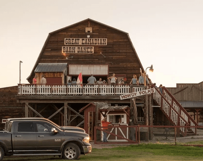 Great Canadian Barn Dance - Saturday night dinner & dance and Friday night Dinner Show feature the live music of the Kunkel Family. Music for all ages.